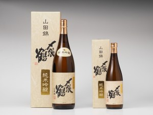 〆張鶴純米吟醸山田錦カートン1800、720-1