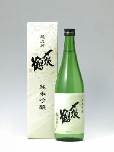 〆張鶴純米吟醸越淡麗720-2